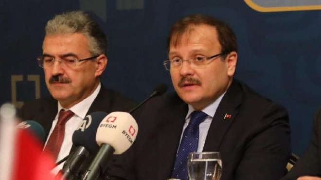 Başbakan Yardımcısı'ndan İzmir'de açıklamalar: O ders, orada verilmiştir!