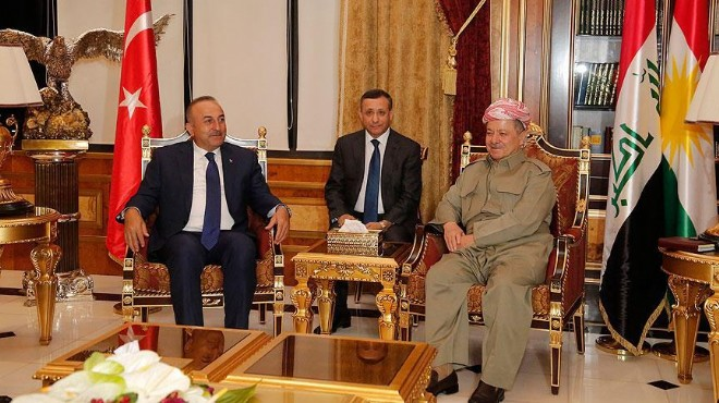 Çavuşoğlu'ndan kritik görüşme: Barzani...