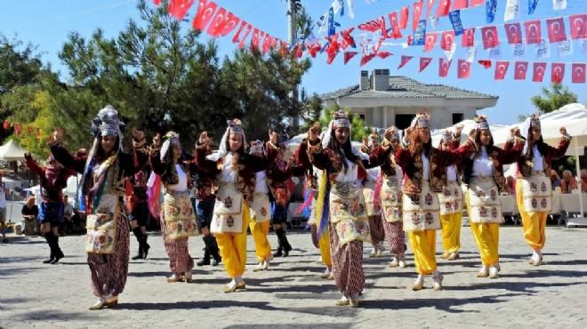 Çeşme'de festivale komşu desteği