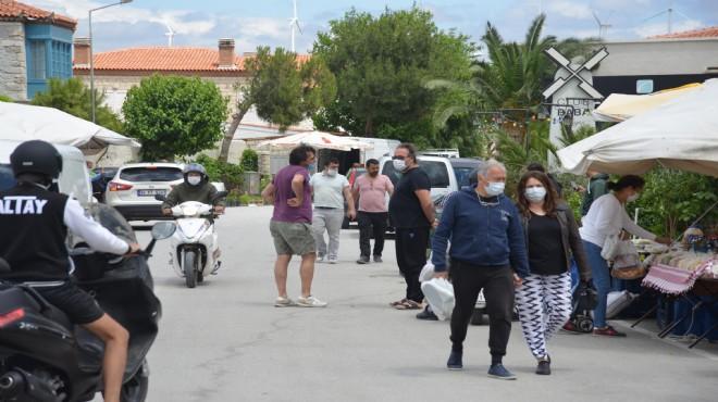 Çeşme'ye yazlıkçı akını: Turizmci umutlandı!