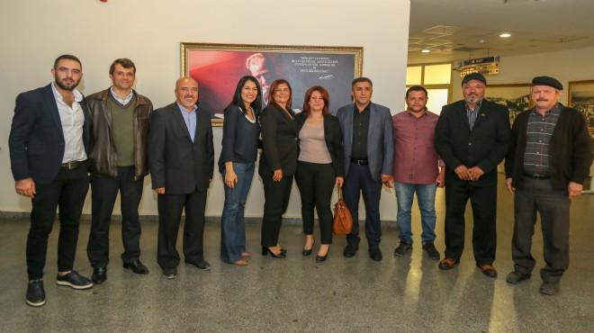CHP İncirliova'dan Başkan Çerçioğlu'na Ziyaret