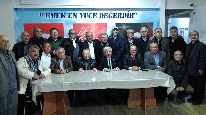 CHP İzmir'de 'eski'lerden buluşma