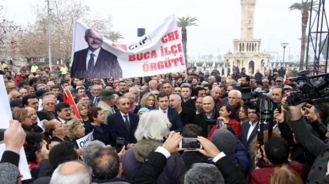 CHP İzmir'den OHAL'e karşı eylem