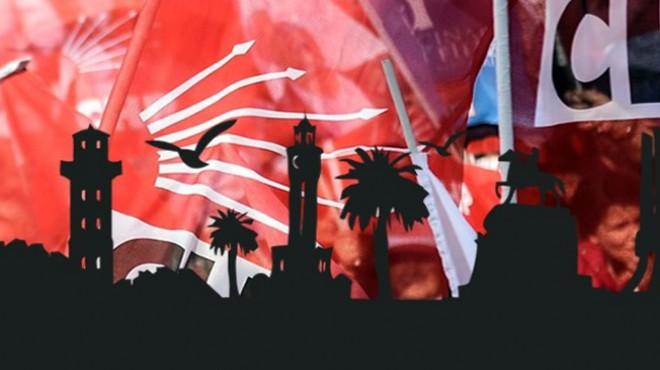 CHP İzmir'in 2019 ajandası: 8 ilçede kimler aday gösterilecek?