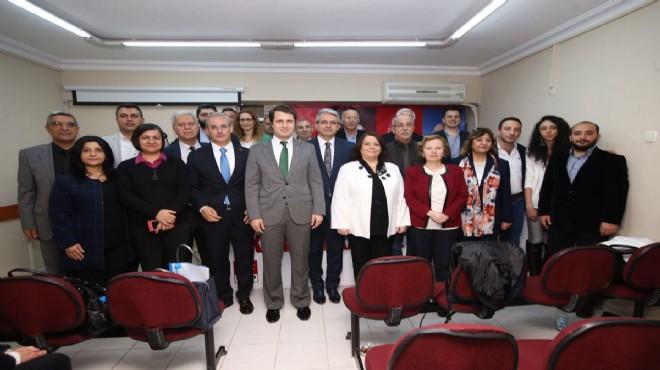 CHP İzmir'in patronu Yücel'in dördüncü günü: Bayraklı'da sürpriz!