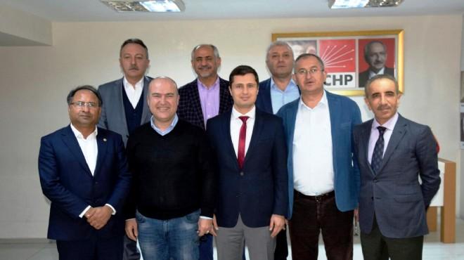 CHP İzmir'in vekillerinden yeni yönetime tam destek!