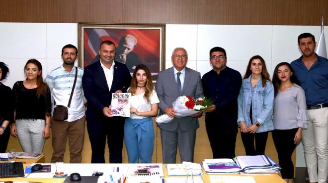 CHP Karabağlar Gençlik'ten Başkan Selvitopu'na ziyaret