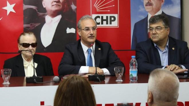 CHP Karşıyaka'dan Ertam Özen'e vefa