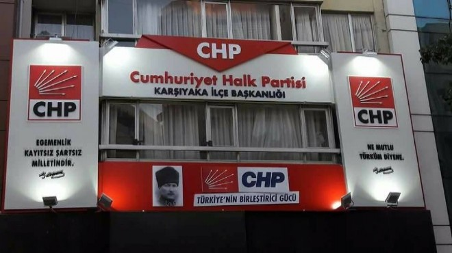 CHP Karşıyaka'da üyelerden Genel Merkez hamlesi: Önlem istediler!