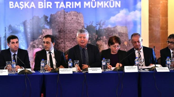 CHP'li 11 büyükşehir belediyesinden tarım konusunda işbirliği