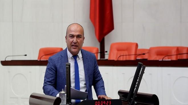 CHP'li Bakan o merkezlerdeki iddiaları meclise taşıdı