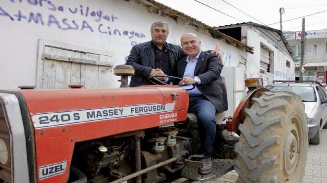 CHP'li Bakan o yatırımı sordu: 'İzmirli çiftçiye üvey evlat muamelesi yapılıyor'