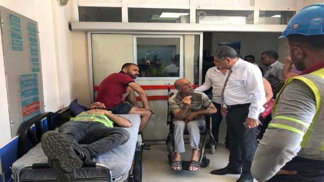 CHP'li Bedri Serter zehirlenen işçileri ziyaret etti
