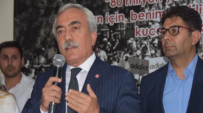CHP'li İnanç'tan il kongresi için yeşil ışık: Görevden kaçmam!