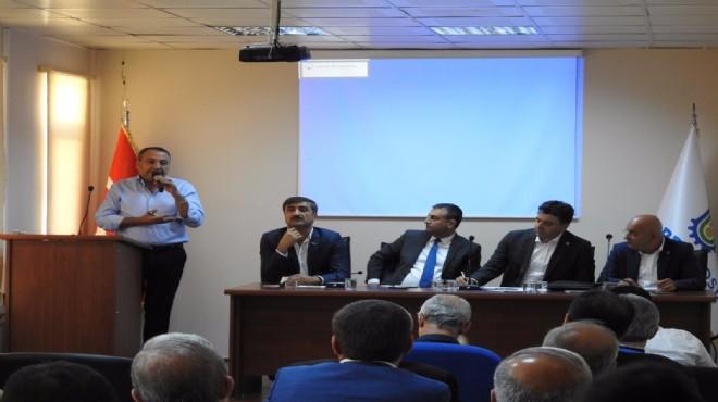 CHP'li Polat, Mardin'de ekonomiyi anlattı