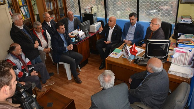 CHP'li Polat STK temsilcileriyle buluştu