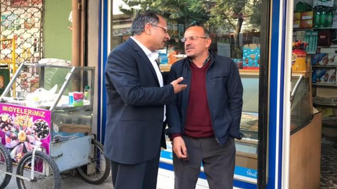 CHP'li Purçu'dan İzmir'de mahalle ziyaretleri