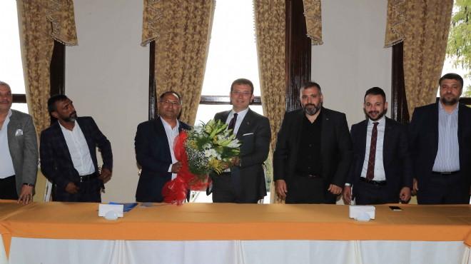 CHP'li Purçu romanların sorunları için İmamoğlu'nu ziyaret etti