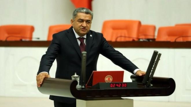 CHP'li Serter'den AK Partili Kaya'ya çöp cevabı!