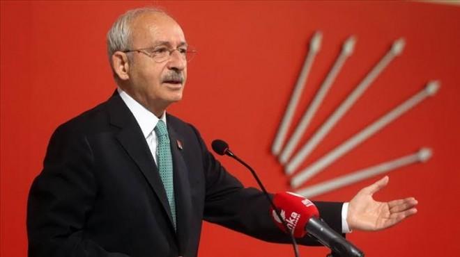CHP Lideri'nden Barış Pınarı açıklaması!