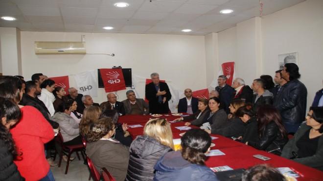 CHP Narlıdere Adayı Engin: En büyük destekçimiz muhtarlar olacak