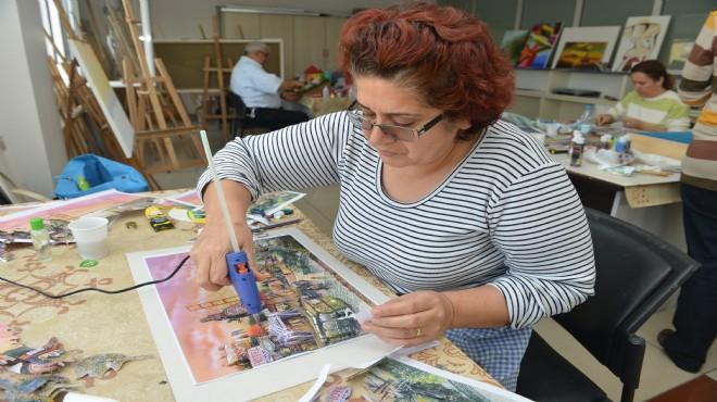 Çiğli'de sanat kursları başlıyor