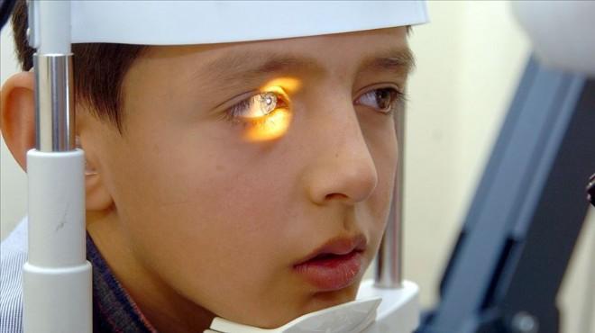 Çocuklara okula başlamadan önce göz taraması yapılacak