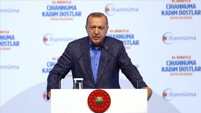 Cumhurbaşkanı Erdoğan'dan İmamoğlu'na tepki!