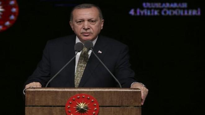 Cumhurbaşkanı Erdoğan'dan sosyal medya uyarısı