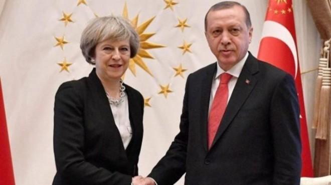 Cumhurbaşkanı Erdoğan ve May'den ortak plan!