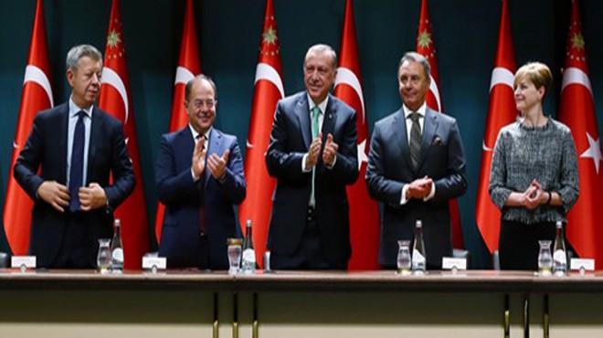 Cumhurbaşkanlığı Sarayı nda İzmir için çok önemli imza: Hedef 2019!