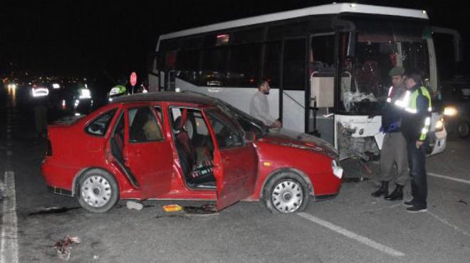 Denizli'de taziye dönüşü katliam gibi kaza: Çok sayıda ölü ve yaralı var!