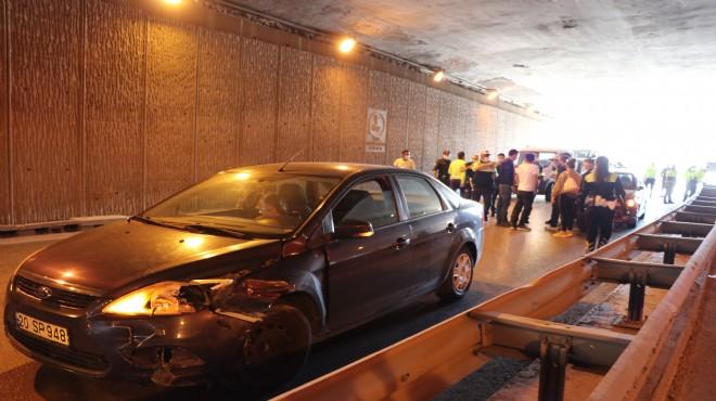Denizli'de zincirleme kaza: 11 araç birbirine girdi!