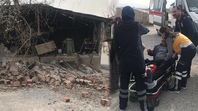 Denizli'deki deprem sonrası ilk fotoğraflar
