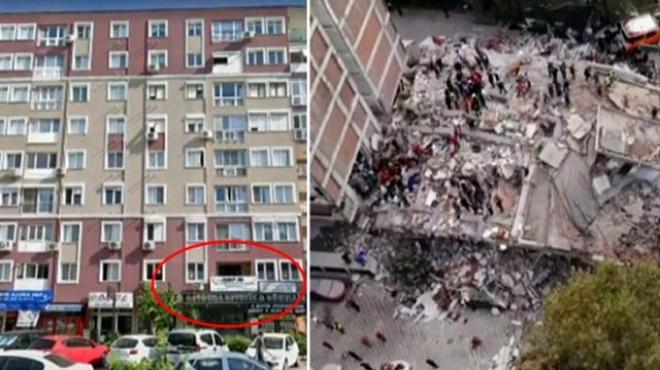 Depremin dehşetini ortaya serdi: İşte bomba kat!