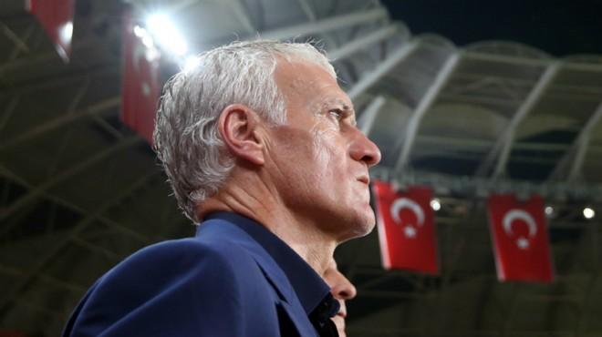 Deschamps: Türkiye'de her ülkenin marşı ıslıklanıyor