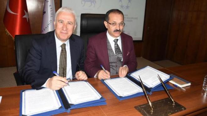 DEÜ ve İZVAK'tan 'Spor Kenti İzmir' projesi