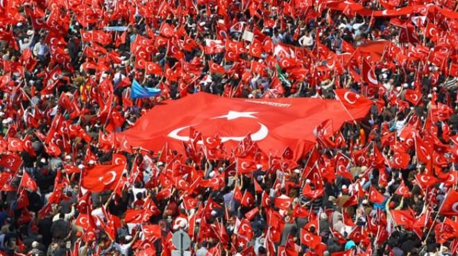 Taksimde Cumhuriyet ve Demokrasi Mitingi