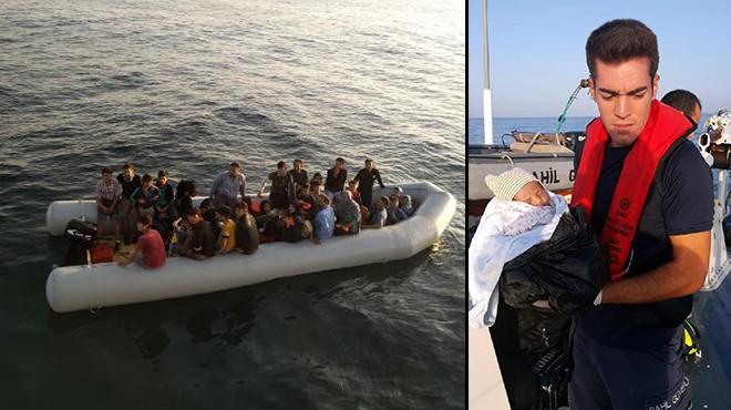 Didim'de 73 kaçak göçmen yakalandı