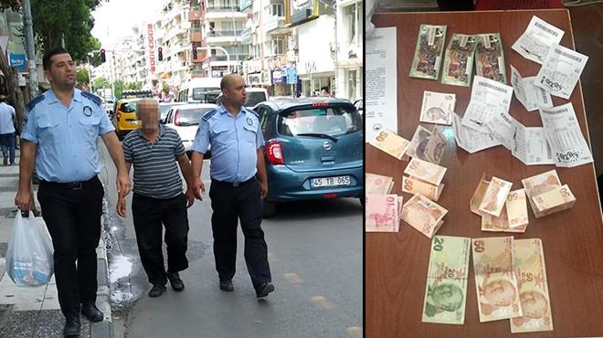 Dilincilik yaptı... Paraları piyango biletine yatırdı