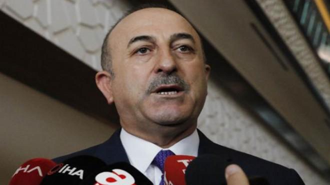 Çavuşoğlu'ndan Suriye mesajı