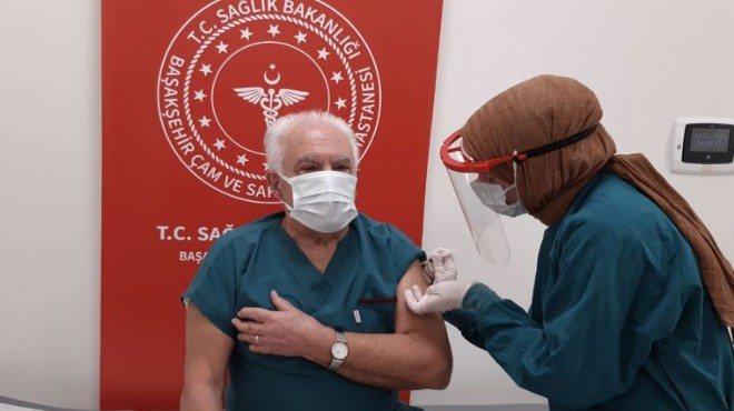 Doğu Perinçek, Covid-19 aşısı oldu