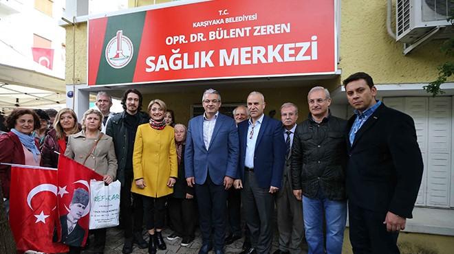 Dr. Bülent Zeren Karşıyaka'da ölümsüzleşti