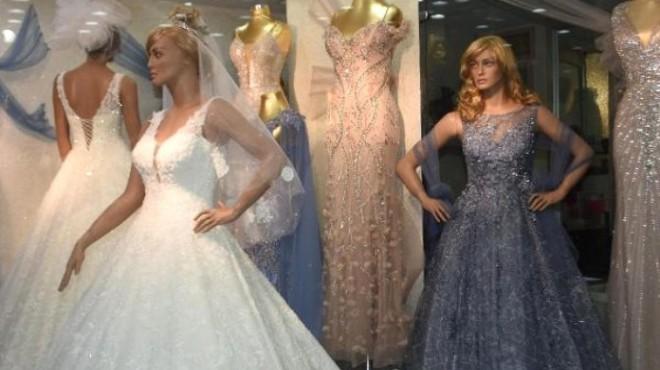 Düğün sezonu açıldı: Gelinlik ve damatlık satışları arttı