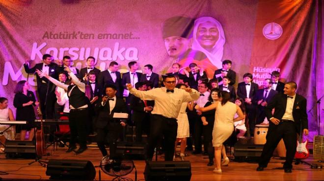 Dünyanın en büyük otizm korosu Karşıyaka'da büyüledi