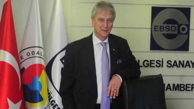 EBSO Başkanı Yorgancılar'dan 'büyüme rakamı' yorumu