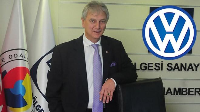 EBSO Başkanı Yorgancılar'dan 'Wolkswagen' açıklaması: Manisa, İzmir'i de hareketlendirecek