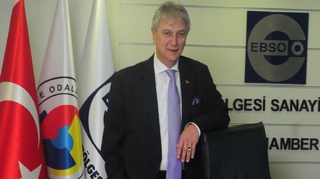 EBSO Başkanı Yorgancılar: Sanayileşmekten başka çare yok