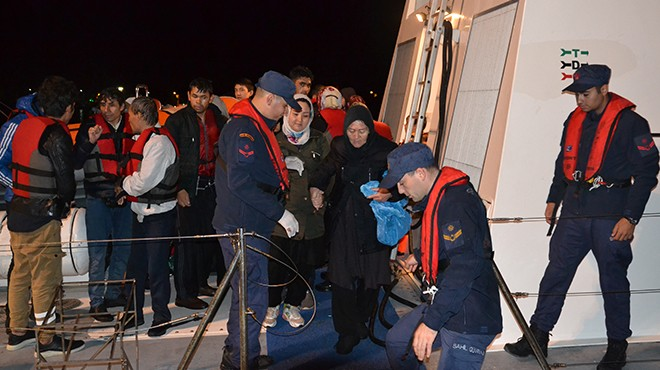 Ege'de 490 kaçak göçmen yakalandı!