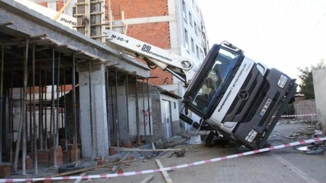 Ege'de bir iş kazası daha: Feci şekilde can verdi!